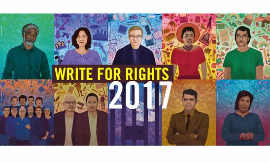 Write For Rights 2017