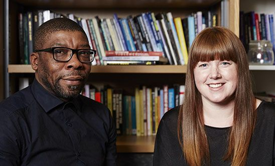 Becky Clarke and Patrick Williams