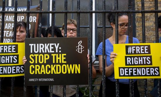 Journalists and other members of civil society have taken the full brunt of Turkey's post-coup crackdown