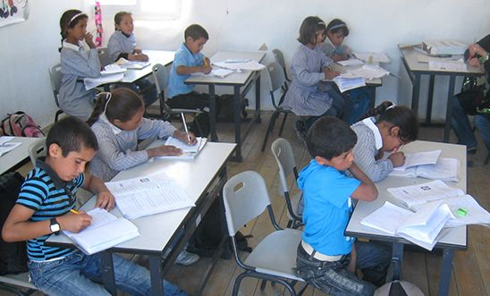 Jahalin School, West Bank, Occupied Palestinian Territories