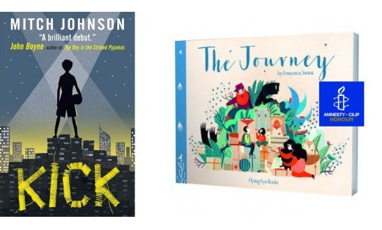 Kick and The Journey book covers