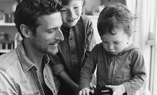 Photographer Alexi Lubomirski and sons
