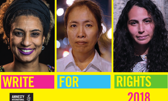 Write for Rights 2018