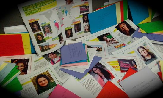 LAST CHANCE to join us our Write for Rights campaign - Saturday 1st