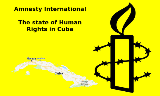 Amnesty International - The state of Human rights in Cuba