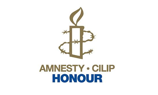 Amnesty CILIP Honour