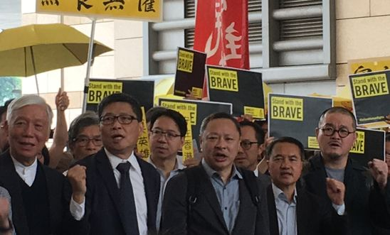 Umbrella Movement leaders