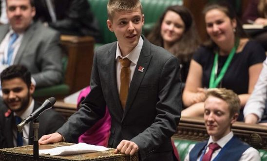 Image shows Josh Kennedy MSYP