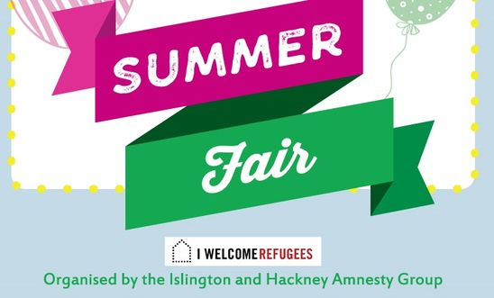 Summer Fair organised by Islington and Hackney Amnesty Group