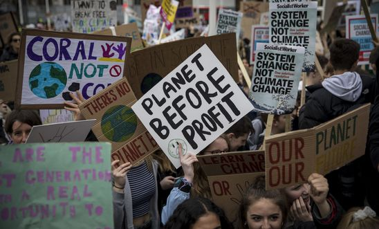 Climate strike, London - 2019