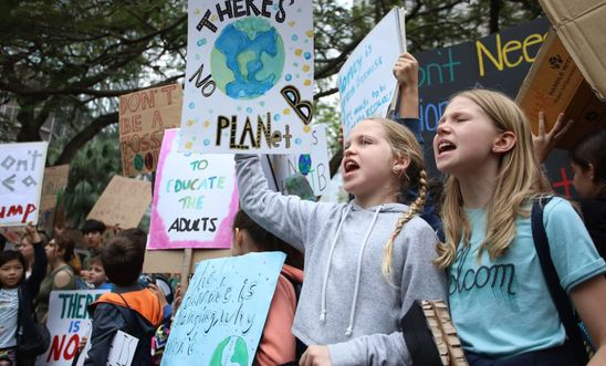 Fridays for Future Student Demonstration