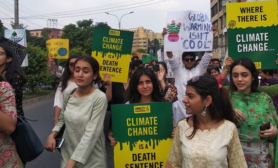 Climate Strikes in Pakistan