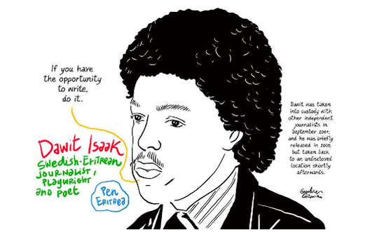 Poster of Dawit Isaak