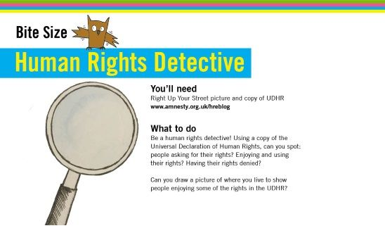 Be a Human Rights Detective