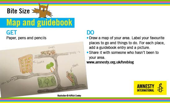 Create a guidebook to celebrate your local area