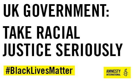 UK Government: Take Racial Justice Seriously