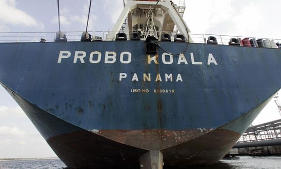 Probo Koala ship at the port of Tallinn Sept 2006
