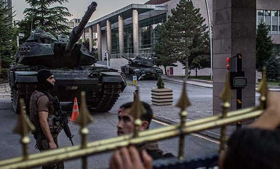 Army Headquarters in Ankara, Turkey