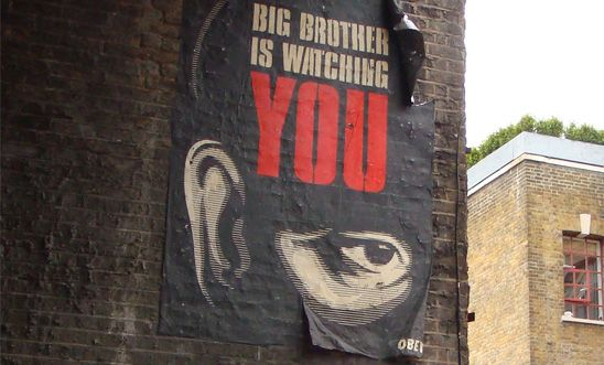 'Big Brother is watching you' poster