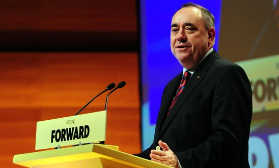 SNP leader and First Minister Alex Salmond, October 2013