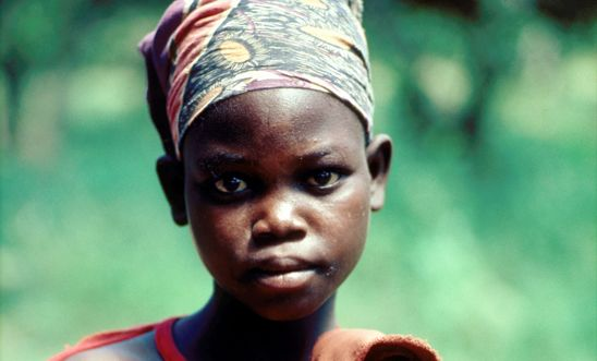 13-year old girl raped by Mozambique's National Resistance (RENAMO),now a mother