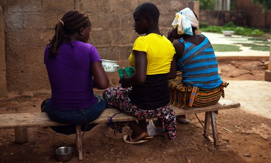 Shelter for survivors of forced marriage in Kaya city, northeast Burkina Faso