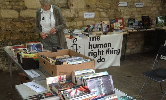 Amnesty Burford Book Sale