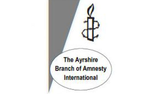 The Ayrshire branch of Amnesty International
