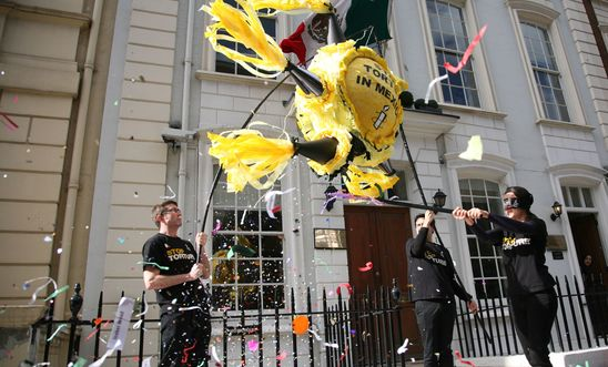 Amnesty at the Mexican embassy