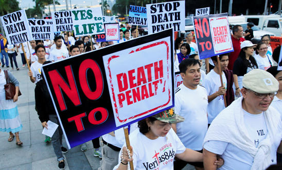 Walk for life protest in Manila, Philippines