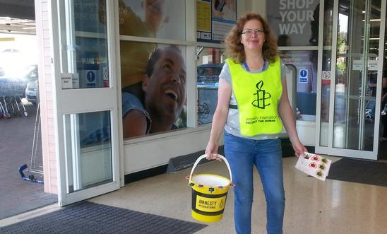 Collecting at Tesco Altrincham Friday 4 August 2017