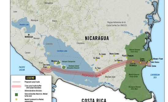 Nicaragua Secretive Canal Deal Threatens Thousands With Forced