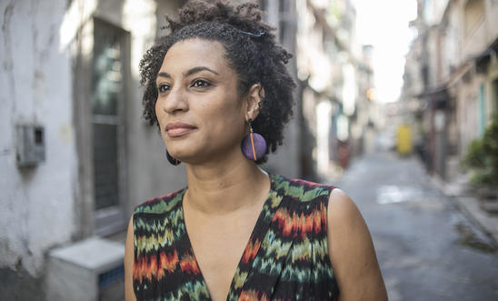 Human rights defender and Rio de Janiero city councillor, Marielle Franco