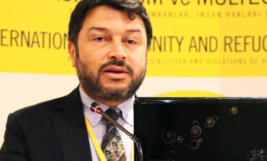 Honorary Chair of Amnesty International Turkey, Taner Kılıç