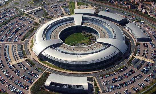 GCHQ building in Cheltenham