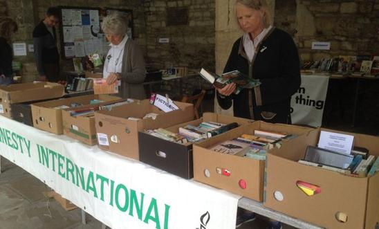 Chipping Norton Amnesty Group's Burford Bookstall