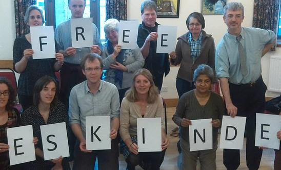 Our May Meeting - taking action for jailed journalist Ekinder Nega