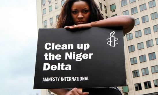 Omotola Jalade Ekeinde supports Amnesty's call to clean up the Niger Delta