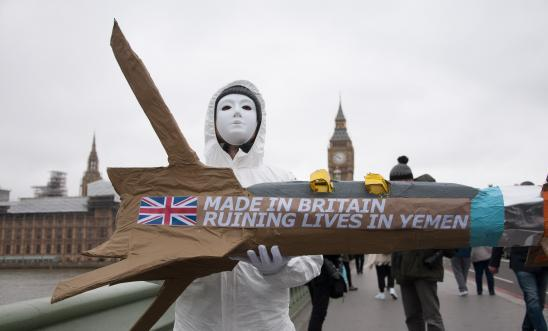 Arms trade protest photo
