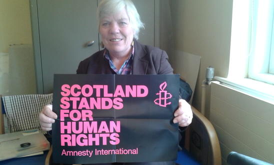 Sheila Gilmore human rights supporter