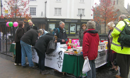 Greetings Card Campaign November 2011 Abingdon