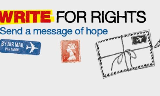 Write for Rights 2014