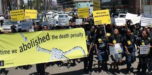 Anti death penalty protest by Amnesty Zimbabwe
