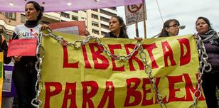 Protest for Belén's freedom, Argentina, May 2016