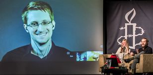 Edward Snowden at our May 2015 event