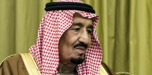 Saudi Arabia's King Salman. Yoan Valat/AFP/Getty Images