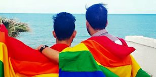 LGBTI rights activists in Tunisia. Image courtesy of Shams.