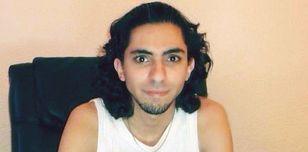 Raif Badawi at home in 2011