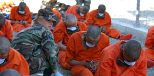 Detainees at Guantánamo