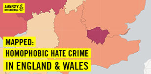 Homophobia in England & Wales